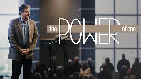 The Power of One [Who You Are in Christ]