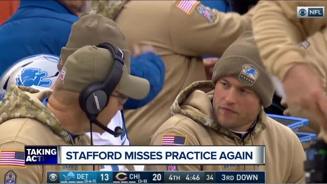 Matthew Stafford insists he wants to play this season - whenever the Lions clear him