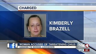 Port Charlotte woman accused of making a threat that led to a school lockdown