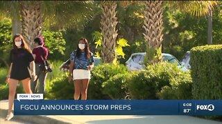 FGCU announces storm preps