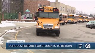 Schools prepare for students to return