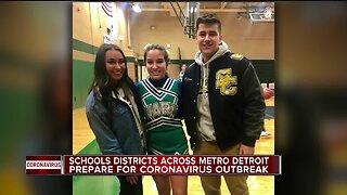 School districts across metro Detroit prepare for coronavirus outbreak