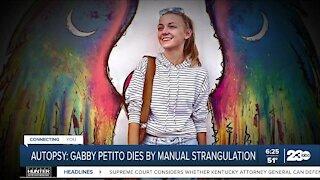 Autopsy: Gabby Petito killed by manual strangulation