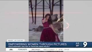 Local photographers use same dress to empower women