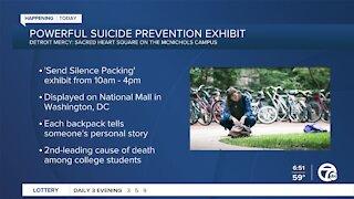 Powerful Suicide Prevention Exhibit