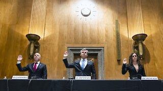 National Security Officials Brief Senators On Security Threats