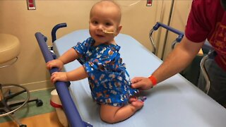 Parents of 10-month old share son's triumph over cancer