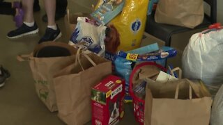 Cheektowaga 6-year-old accepts pet item donations in lieu of birthday gifts to donate to local SPCA