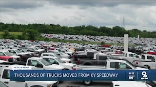 Thousands of trucks moved from Kentucky Speedway