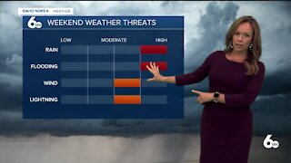 Rachel Garceau's Idaho News 6 forecast 7/29/21