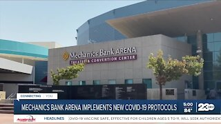 Mechanics Bank Arena implements new state COVID-19 protocols