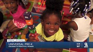 Preschool Promise says guaranteed preschool is working here