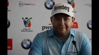 VIDEO: SA's Branden Grace speaks about his chances at the SA Open (wJL)