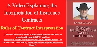 A Video Explaining the Interpretation of Insurance Contracts