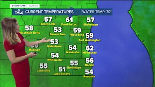 Mostly sunny Saturday before isolated evening storms