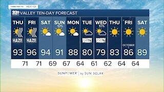 23ABC Weather for Thursday, September 23, 2021