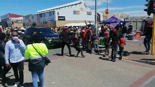 EFF leader Julius Malema has arrived in Mitchells Plain