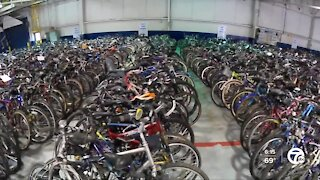Free Bikes 4 Kidz is a nonprofit is fixing up thousands of bikes for kids in time for Christmas