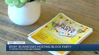 Bixby Business Hosting Block Party