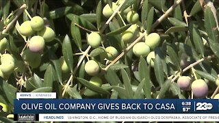 Olive oil company supports CASA of Kern County