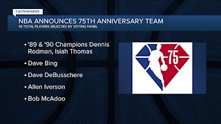 Pistons greats, Hall of Famers among players selected to NBA 75th Anniversary Team