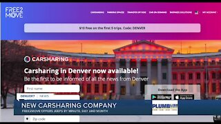 New carsharing service starts in Denver