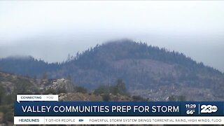 Valley communities prepare as storm system heads into Kern County