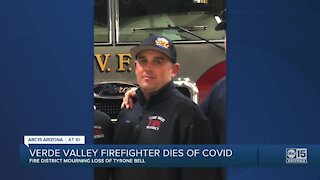 Verde Valley firefighter and paramedic dies of COVID