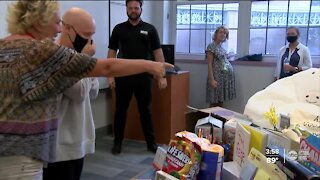Bradenton teacher battling cancer receives a special surprise from the community