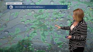 7 First Alert Forecast 6 a.m. Update, Thursday, October 28