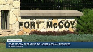 Wisconsin's Fort McCoy preparing to receive Afghan refugees