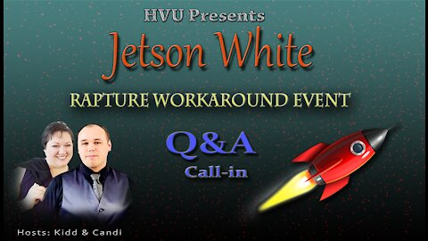 High Vibes Up with Special Guest Jetson White 10-1-21