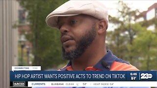 Kentucky hip-hop artist launches random acts of kindness challenge on TikTok