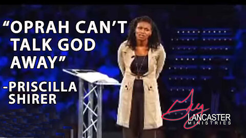 """""""Oprah can't talk God away"""", Priscilla Shirer's Inspirational Words of How Good Father God is"""