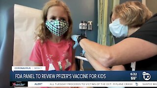 FDA panel to review Pfizer's vaccine for kids