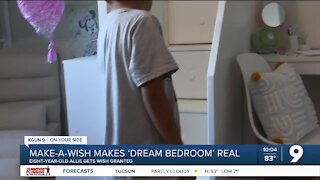 After cancer treatment, eight-year-old's dream bedroom becomes reality