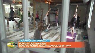 Power Yoga Buffalo yogathon benefits Mental Health Advocates of WNY