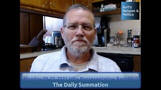 20210802 Why Representative Republic? - The Daily Summation