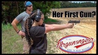 Best Gun For A New Female Shooter?