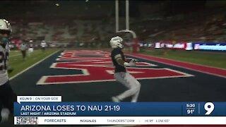NAU defeats Arizona 21-19