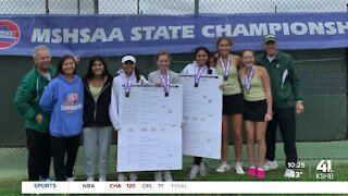 Athlete of the Week: Barstow girls tennis wins triple crown at Missouri state championships