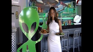 LIFE-SIZED UFO! Space Age Restaurant and Lodge is most popular stop on way to San Diego - ABC15 Digital