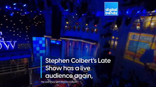 Watch this FPV drone video open Stephen Colbert's Late Show