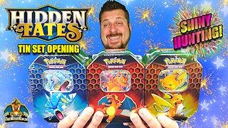 Hidden Fates Tin Set #7 | Shiny Hunting | Pokemon Cards Opening