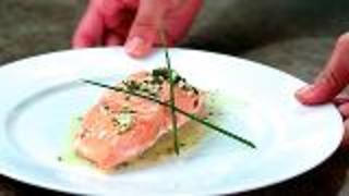 Pan-Steamed Alaska Sockeye Salmon
