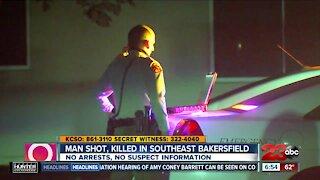 One man dead following shooting in Southeast Bakersfield