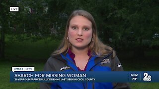 Searching for missing woman