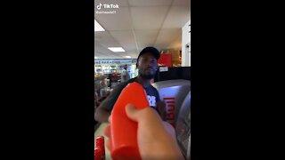 Man Pulls Ketchup Prank On Customers