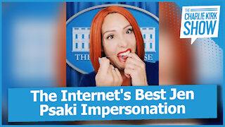 The Internet's Best Jen Psaki Impersonation
