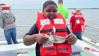 'Fishing with a Cop Day' held in Anne Arundel County